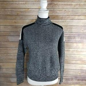 NEW Victoria's Secret Gray Striped Sweater
